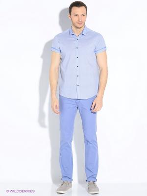 Рубашка Dairos. Цвет: синий