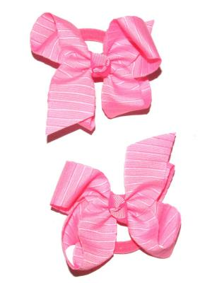 Резинки Lola. Цвет: розовый