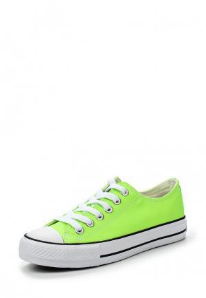 Кеды Andy-z. Цвет: зеленый