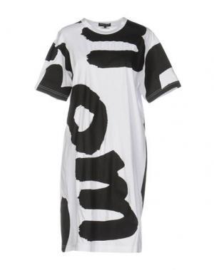 Короткое платье COMME DES GARÇONS. Цвет: белый