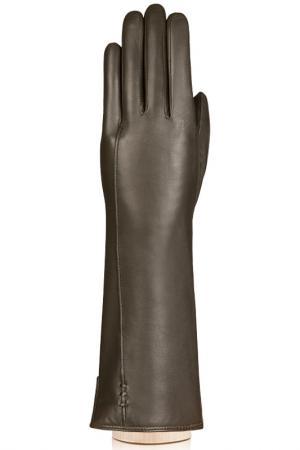 Перчатки Labbra. Цвет: оливковый