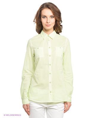Рубашка LERROS. Цвет: светло-зеленый