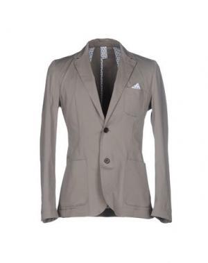 Пиджак INDIVIDUAL. Цвет: серый