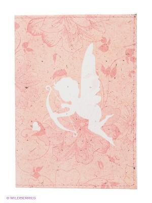 Обложка для паспорта Амурчик Mitya Veselkov. Цвет: бледно-розовый