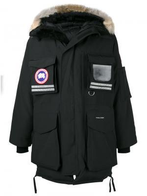 Парка Snow Mantra Canada Goose. Цвет: чёрный
