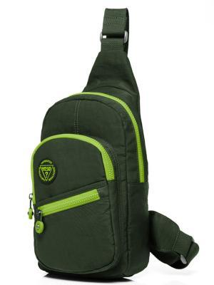 Рюкзак однолямочный Yeso (Outmaster). Цвет: зеленый