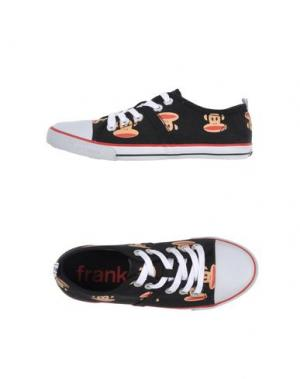 Низкие кеды и кроссовки PAUL FRANK. Цвет: черный