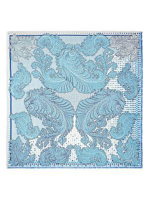 Платок Eleganzza. Цвет: синий, голубой, молочный