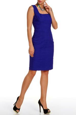 Платье D.Exterior. Цвет: синий