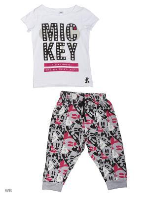 Костюм S`Cool. Цвет: белый, черный, серый, розовый