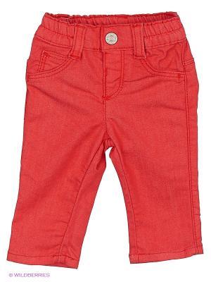 Джинсы United Colors of Benetton. Цвет: красный, коралловый, темно-красный