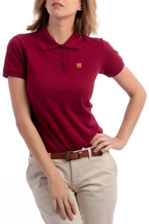 Polo t-shirt CLUB С.H.A.. Цвет: bordeaux