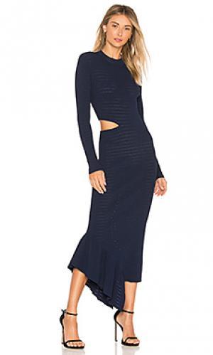 Макси платье charlize Ronny Kobo. Цвет: синий