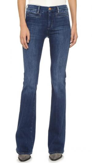 Расклешенные джинсы Marrakesh M.i.h Jeans. Цвет: clarice