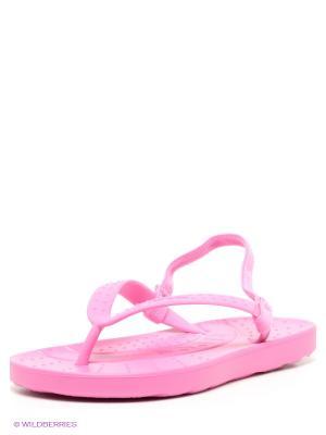 Шлепанцы CROCS. Цвет: розовый