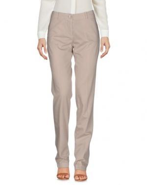 Повседневные брюки EMISPHERE. Цвет: бежевый
