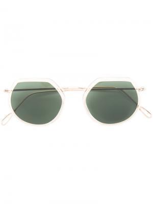 Солнцезащитные очки Omar Kyme. Цвет: металлический