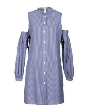 Короткое платье SOUVENIR. Цвет: синий