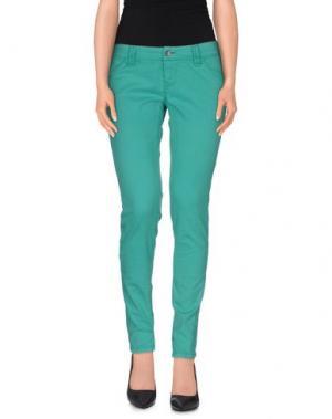 Повседневные брюки JCOLOR. Цвет: зеленый