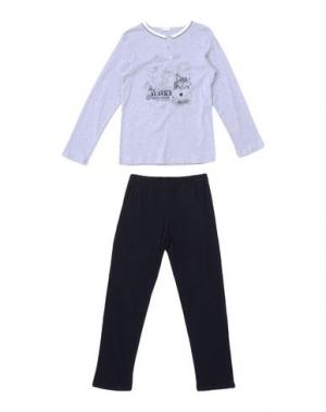 Пижама GRIGIO PERLA. Цвет: серый