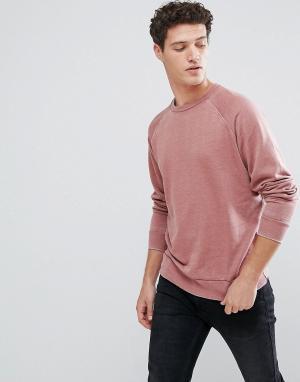 Brave Soul Выбеленный свитер. Цвет: красный