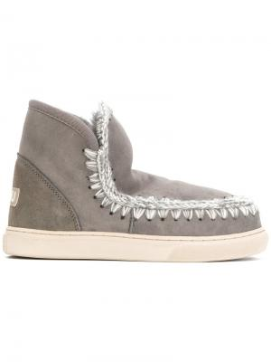 Mini Eskimo boots Mou. Цвет: серый