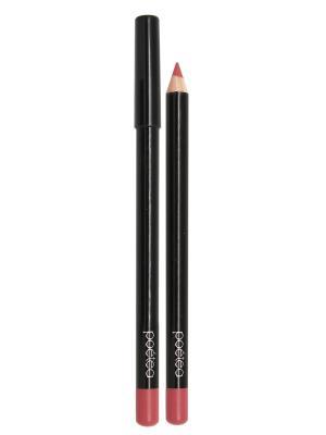 Кремовый карандаш для губ  MANGO тон 73 POETEA. Цвет: лиловый