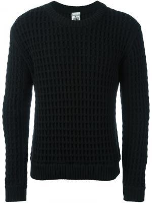 Джемпер с круглым вырезом S.N.S. Herning. Цвет: чёрный