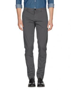 Повседневные брюки ONE. Цвет: серый