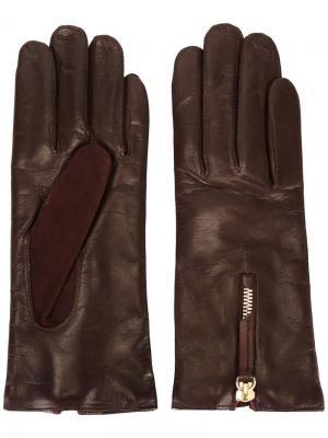 Перчатки с молниями Want Les Essentiels De La Vie. Цвет: красный
