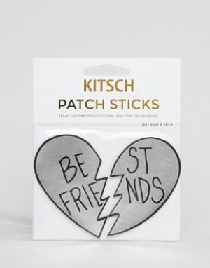 Kitsch Нашивка с надписью Best Friends. Цвет: мульти