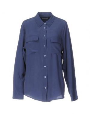 Pубашка EQUIPMENT FEMME. Цвет: грифельно-синий