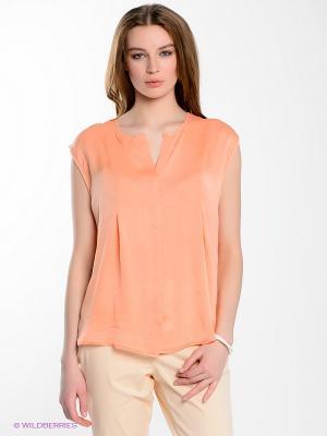 Блузка Yerse. Цвет: персиковый