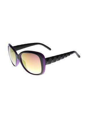 Солнцезащитные очки Olere. Цвет: черный, сиреневый