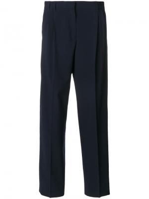 Классические брюки с завышенной талией Ps By Paul Smith. Цвет: синий