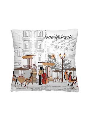 Подушка - думка, С любовь, Из Парижа Волшебная ночь. Цвет: бежевый