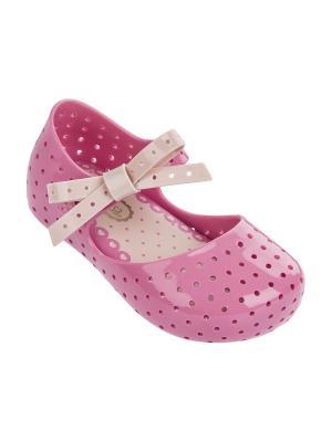 Туфли Melissa. Цвет: розовый
