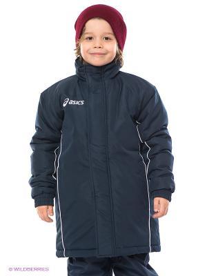 Куртка JACKET MOUNTAIN JR ASICS. Цвет: синий