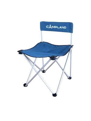 Кресло складное CAMPLAND. Цвет: серебристый, синий