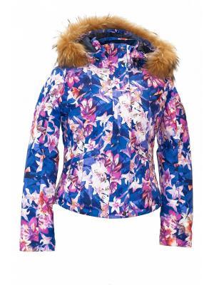 Куртка Baon. Цвет: розовый, синий, белый