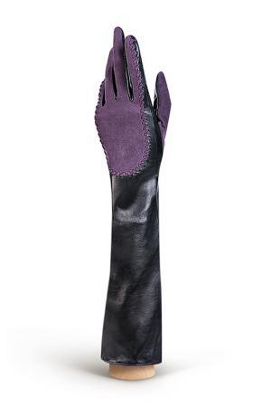 Перчатки Eleganzza. Цвет: черный, фиолетовый