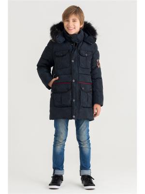 Куртка Steen Age. Цвет: черный