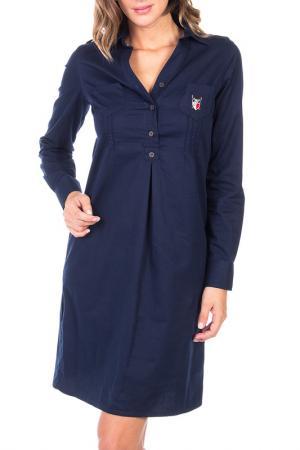 Платье POLO CLUB С.H.A.. Цвет: navy