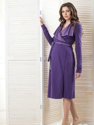 Халат Hortensia Nid d'Ange. Цвет: фиолетовый