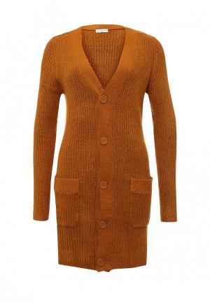 Кардиган Jacqueline de Yong. Цвет: оранжевый