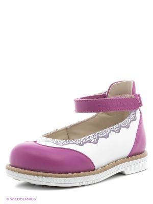 Туфли TAPiBOO. Цвет: фиолетовый