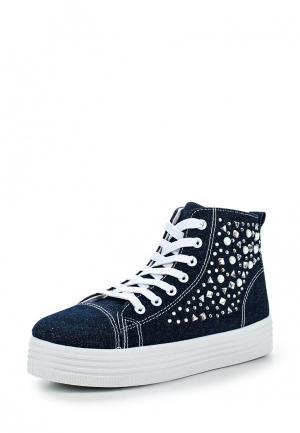 Кеды Ideal Shoes. Цвет: синий