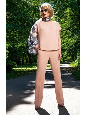 Блузка Vaide. Цвет: персиковый