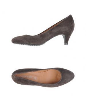 Туфли CARMENS. Цвет: темно-коричневый