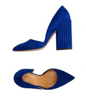 Туфли PETAR PETROV. Цвет: ярко-синий